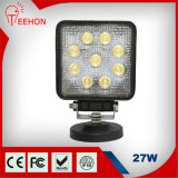 Popular Square 27W Commercial Electric LED Work Light for Truck LED Work Light