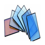 Blue Green Gold Bronze Color Reflective Glass