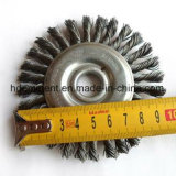 Hot Selling Stringer Knotted Wire Wheel Grinder Brush for Welding