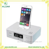 Hotel Multifunctional Bluetooth Digital Alarm Clock for iPhone and Android