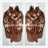 Popular Style Muslim Scarf Long Islamic Shawl Wrap (L11120029)