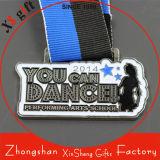 Promotion Custom Color Filled Enamel Sports Dance Medals