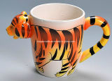 Cartoon Ceramic 3D Animal Mug (HG024)