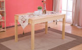 Solid Wooden Dining Table Living Room Furniture (M-X2442)