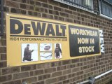Wholesale and Retail Heavy Duty Smooth Blockout Vinyl Banner Printing