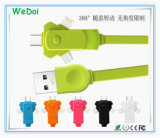 New Swivel Mobile Phone Cable with Fast Speed and Low Cost (WY-CA37)