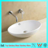 Ceramic Oval Shape Bathroom Hand Wash Basin