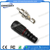 Male Solderless CCTV RCA Connector for Video or Audio (CT5026)