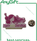 Printed Metal Pin Badge with Customized Logo and Shape