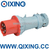 IEC 309 63A 3phase 5pins Red Industrial Plug