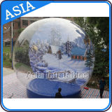 Giant Inflatable Xmas Inflatable Snow Globe PVC Christmas Snow Globe for Sale