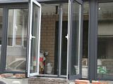 Double Pane Swing Outside Aluminum Window