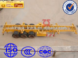 China Tongya Best-Selling 3 Axles Skeleton Container Semi Trailer