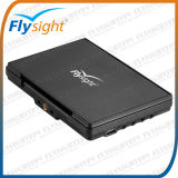 """A826 7"""" LCD Monitor with HDMI Input 5.8GHz Wireless Built-in Receiver Flysight Blacak Pearl Monitor with 12V DC Input"""