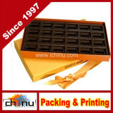 Hot Stamping Hexagonal Paper Folding Gift Box for Cosmetics (1354)