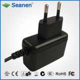 6watt/6W Power Adapter with Europe Pin/EU Pin, GS, Ce Certificated