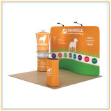 10ft Wall Exhibition Stand with Tension Fabric Graphic