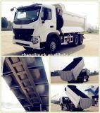 Heavy Duty 10 Wheel 371HP HOWO U-Shape Dump Truck