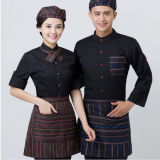 Chinese Factory Provide Chef Coat Waiter Uniform Western Modern Restaurant Uniforms