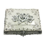 Silver Jewelry Box, Rectangle Silver Jewelry Gift Box