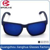 Wholesale Blue Mirror Sunglasses Matt Blue Anti UV Holbrook Polarized Sun Glasses