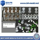 Hot Runner High Quality Injection Mold for Flip Top Cap