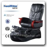 Black Leather Manicure Chair Nail Salon Furniture (A205-32)