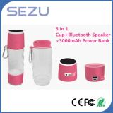 2016 Multifunction Bluetooth Speaker Cup with 3000mAh Power Bank