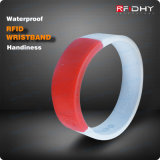IP68 Waterproof Silicon/Silicone RFID Proximity Tag Rubber Wristband