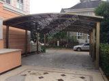Residential Durable Polycarbonate Roof Aluminum Carport