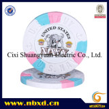 9.5g 3color Pure Clay Navy Sticker Chip (SY-C02-1)