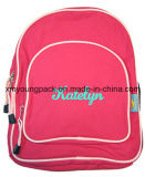 Hot Pink Kids Personalized Backpack Bags for School