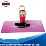 Non Slip Sweat Absorption PU Leather Natural Rubber Sport Mat Yoga Mat