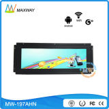 Open Frame Network Android OS 19 Inch Ultra Wide LCD Advertising Display