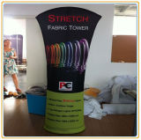New Double Side Banner Stand, Tension Fabric Tower Banner