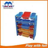 2016 Children Preschool Furniture Plastic Kids Toy Shelf