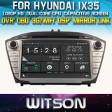 Witson Car DVD for Hyundai IX35 (W2-D8270Y) Car DVD GPS 1080P DSP Capactive Screen WiFi 3G Front DVR Camera