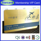 Clear PVC Magnetic Stripe Card