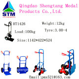 Stainless Steel Pneumatic Tyre Hand Trolley