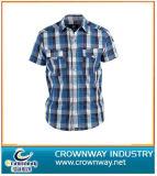 Check Plain Stripe Slim Fit Shirts in 100% Cotton