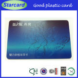 High Quality Embossed Number PVC Card
