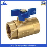 Threaded End Forged Brass Ball Valve (YD-1016)