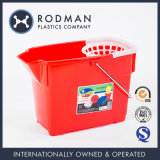 HDPE Nestable Household Plastic Pails No. 3 Mop Bucket