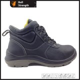 Structure Industrial Ankle Safety Shoe with Steel Toe Cap (SN1575)