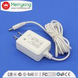 12V 1000mA 15V 800mA AC to DC Wall Mount Power Adaptor with UL FCC DOE VI Cert