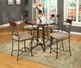 Metal Wooden (Coffee /Dining) Bar Table and Bar Chairs