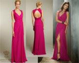 Slim Waist Bride Bridesmaid Lady Party Dress, Evening Dress