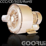0.83kw 1.1HP Single Phase Double Stage Ring Blower