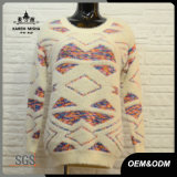 Women Round Neck Knitted Sweater