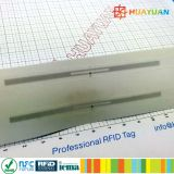 EPC GEN2 RFID UHF mini book label for library